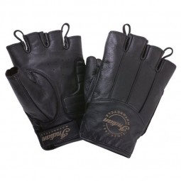 MEN'S FINGERLESS HANDSCHUHE - BLACK