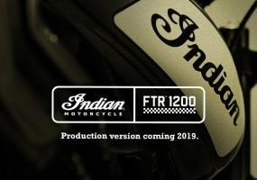 Indian baut neues Serienmotorrad FTR 1200 und verlost eines der ersten Bikes